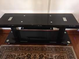 Tv stand full glass