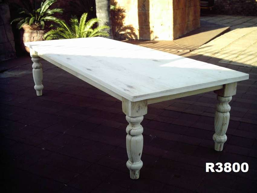 12 Seater Farmstyle Table (3000x1200) 0