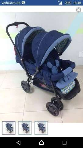 Baby and toddler brander new double pram
