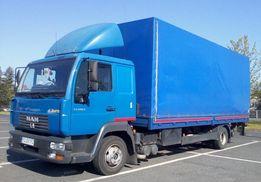 Transport Ciężarowy ( boczny załadunek, winda)