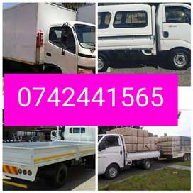 Bakkie with trailer for hire