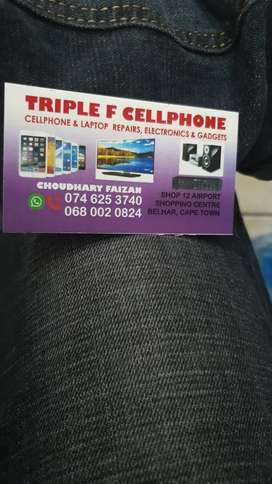 We fix phones and selling accessories in cheap