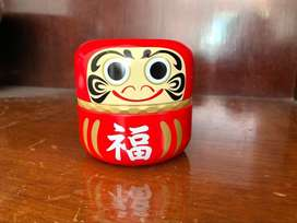 Cute Oriental Lucky Doll Container