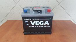 Nowy Akumulator Samochodowy Vega 45Ah 50Ah 52Ah 53Ah P+ L
