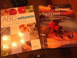 Książki ABC witamin i szybkie naprawy poradnik