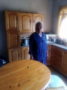 I am looking for a job as a domestic worker