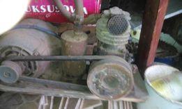 sprezarka jednocylindrowa z silnikiem 3 fazowym