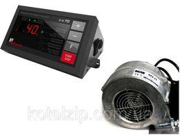 KG Elektronik SP-30 PID вентилятор WPA X2 автоматика для котла