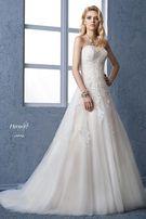 Suknia ślubna Herm's Bridal Lapaz ivory/beige
