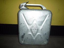 4x KANISTER karnister ALUMINIOWY 20 litrów prod. ZSRR