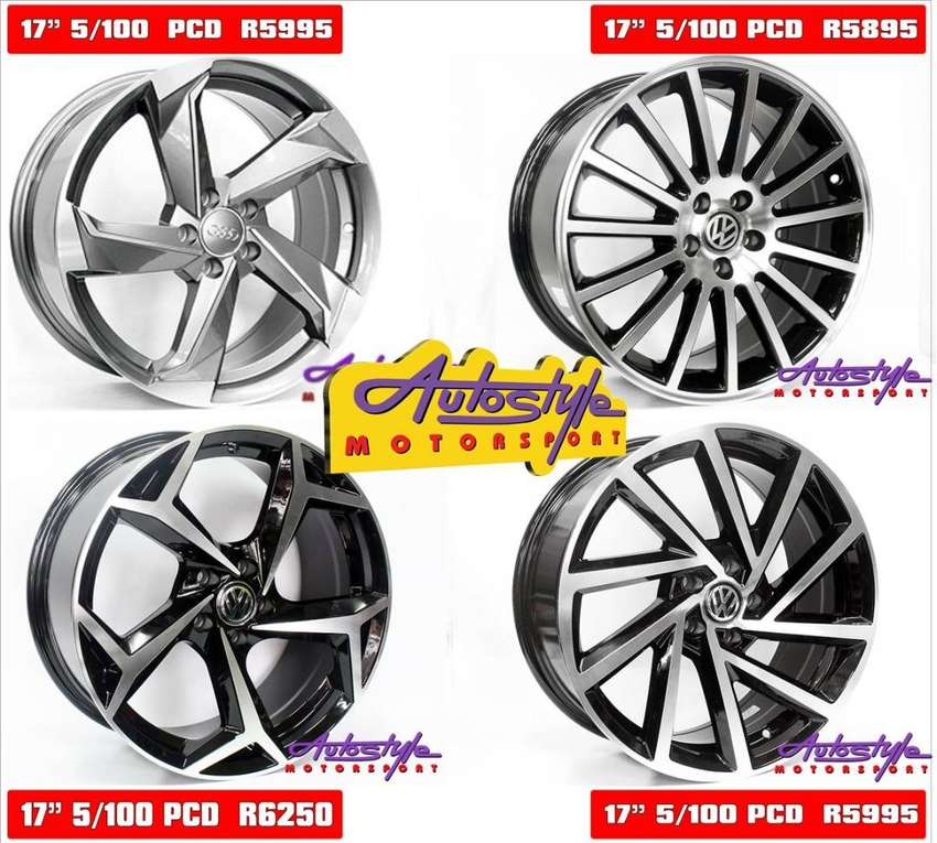 Brand new alloy rims suitable for VW Polo 5 hole, Audi A3 old, Golf 4 0