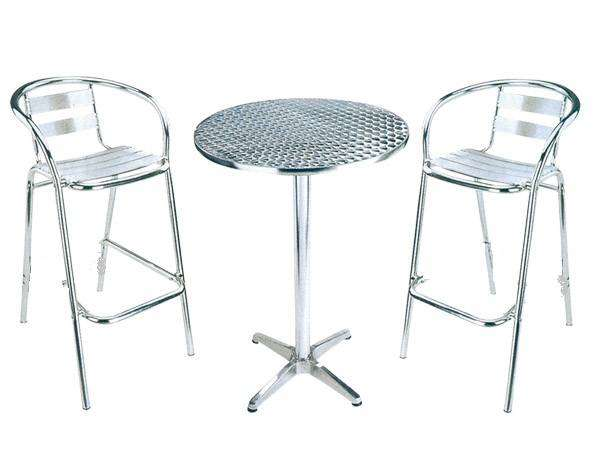 Alu cocktail tables for sale 0