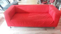SOFA KLIPPAN czerwony pokrowiec!!!IKEA