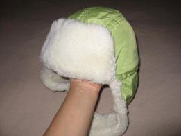 Тепла зимова шапка, 3-4 роки, 100 грн.