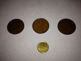 Moneta 1 escudo - 4 monety - 1972, 1973, 1975, 1997 - okazja