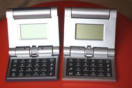 Цена за 2 шт Электронные часы будильник калькулятор ВОЗМОЖНО рабочие