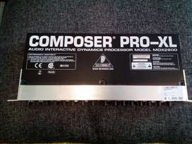 Behringer composer pro-xl model mdx2600