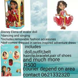 Elena of avalor doll
