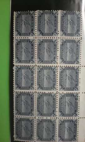 High value mint half penny stamps