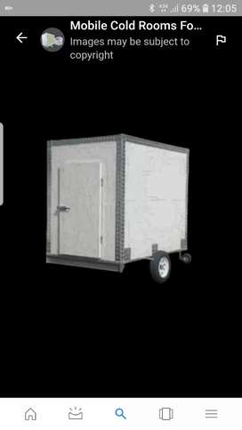 Iam selling mobile cold room