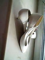Белые туфли №39 Leather, 2740 грн удобная колодка, на свадьбу-бал