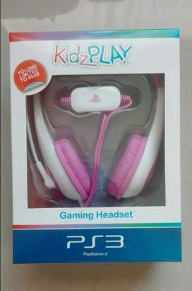 PS3 Gaming Headset for Kids and some adults too - Pink