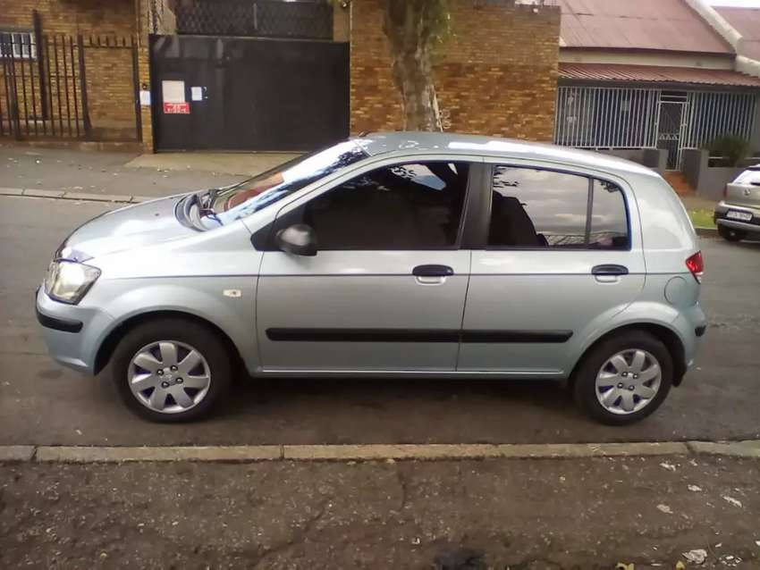 2006 Hyundai Getz, 98,000km, manual, engine 1.6 0