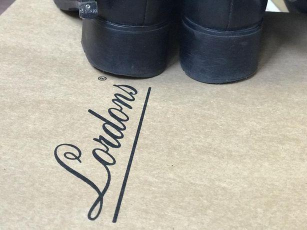 Высокие демисезонные кожаные сапоги с премиум кожи lordans Херсон - изображение 7