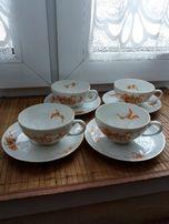 Wyprzedaż kolekcji - antyczna porcelana - filiżanki