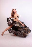 Атласный костюм для восточных танцев - продажа, прокат