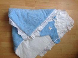 Конверт-одеяло на виписку из роддома