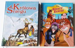 2 bajki - Królowa śniegu (E. Jarmołkiewicz), Rogate ranczo (Disney)