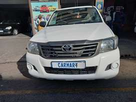 2009 TOYOTA HILUX S/CAB WITH 110000KM