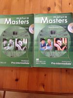 Matura Masters Pre-intermediate podręcznik i ćwiczenia