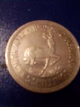 1949 5 shillings silver coin