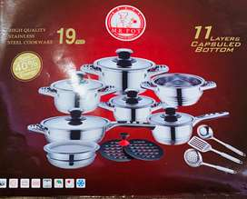 19 pcs German pot set
