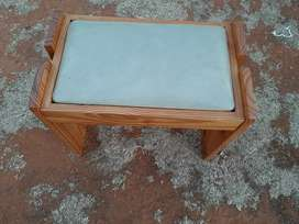 Dressing Pine Wood Solid Chair