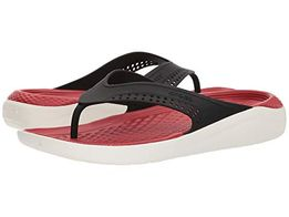 Кроксы-Crocs Men's and Women's LiteRide Flip, Casual Sandal with Extra
