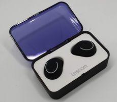 Bezprzewodowe słuchawki Bluetooth z powerbankiem wodoodporne Lesoom t1
