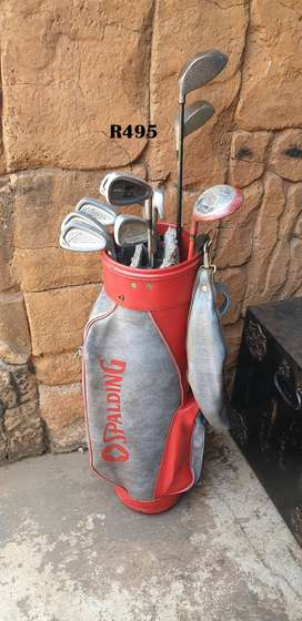 Spalding Golfbag No 2 with Clubs
