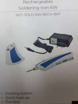 Rechargeable soldering iron brand new  Pls note the location