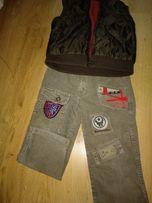 Пакет вещей 3-4 года, желетка, штаны, джинсы, реглан