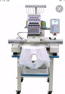 1 head embroidery machine for rental