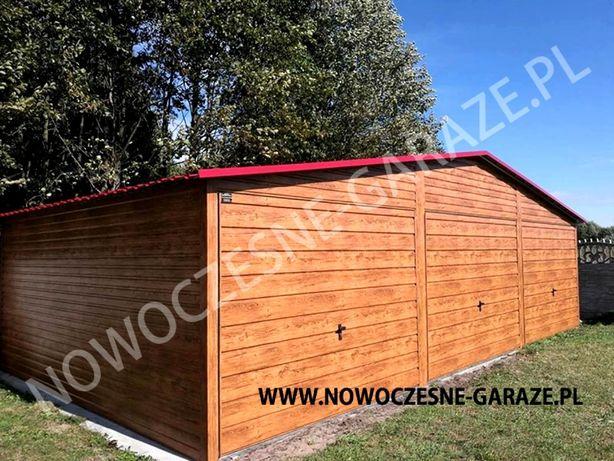 Garaż blaszany drewnopodobny imitacja drewna nowość Wrocław - image 8