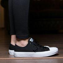 SALE!Converse chuck taylor black low 2 кеды черные низкие конверс