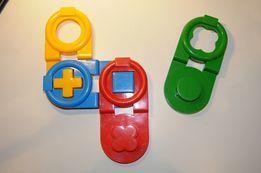 Domino/klocki edukacyjne WADER
