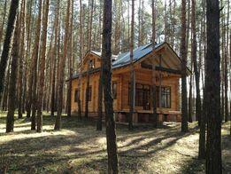 Продам деревянный дом в закрытом поселке, в Старом Салтове