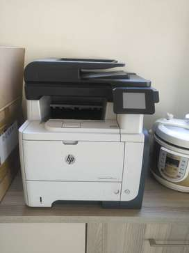 HP Laser Jet Printer and Scanner M521dw