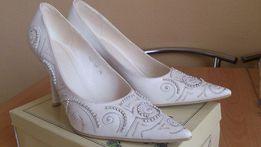 Свадебные туфли 38 р . Ц.500 р