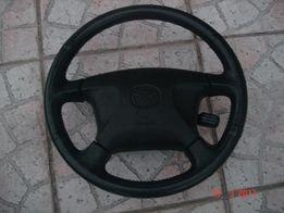 Kierownica Skórzana + Poduszka Powietrzna Mazda Premacy Lift 2002r !!!